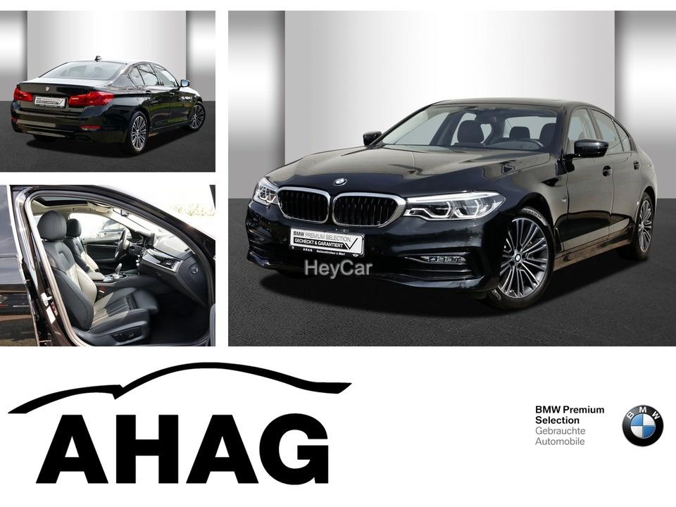 BMW 540i Sport Line Innovationsp. Navi Prof. Aut., Jahr 2017, Benzin