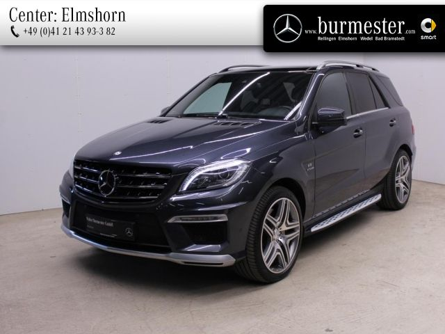 Mercedes-Benz ML 63 AMG 4MATIC Off-Roader Harman+Sitzklima, Jahr 2012, Benzin