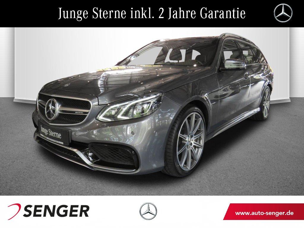Mercedes-Benz E 63 T AMG S Drivers-Pack Keramik-Bremse Comand, Jahr 2016, petrol