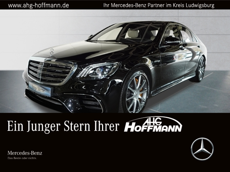 Mercedes-Benz S 63 4M+ lang Pano+LED+Keramik+FondEntertainment, Jahr 2017, Benzin