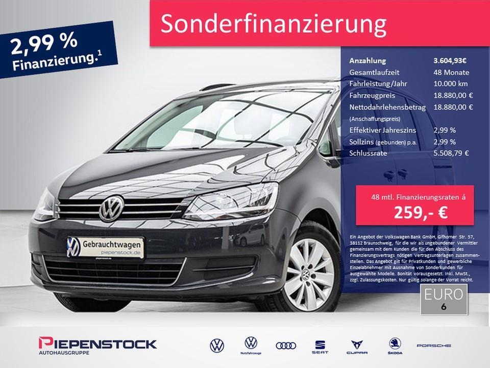 Volkswagen Sharan 1.4 TSI Comfortline ACC Navi Klima, Jahr 2018, Benzin