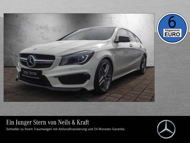 Mercedes-Benz CLA 45 AMG 4M SB 381 PS+NIGHT+PANO+DISTRO+HARMAN, Jahr 2015, Benzin