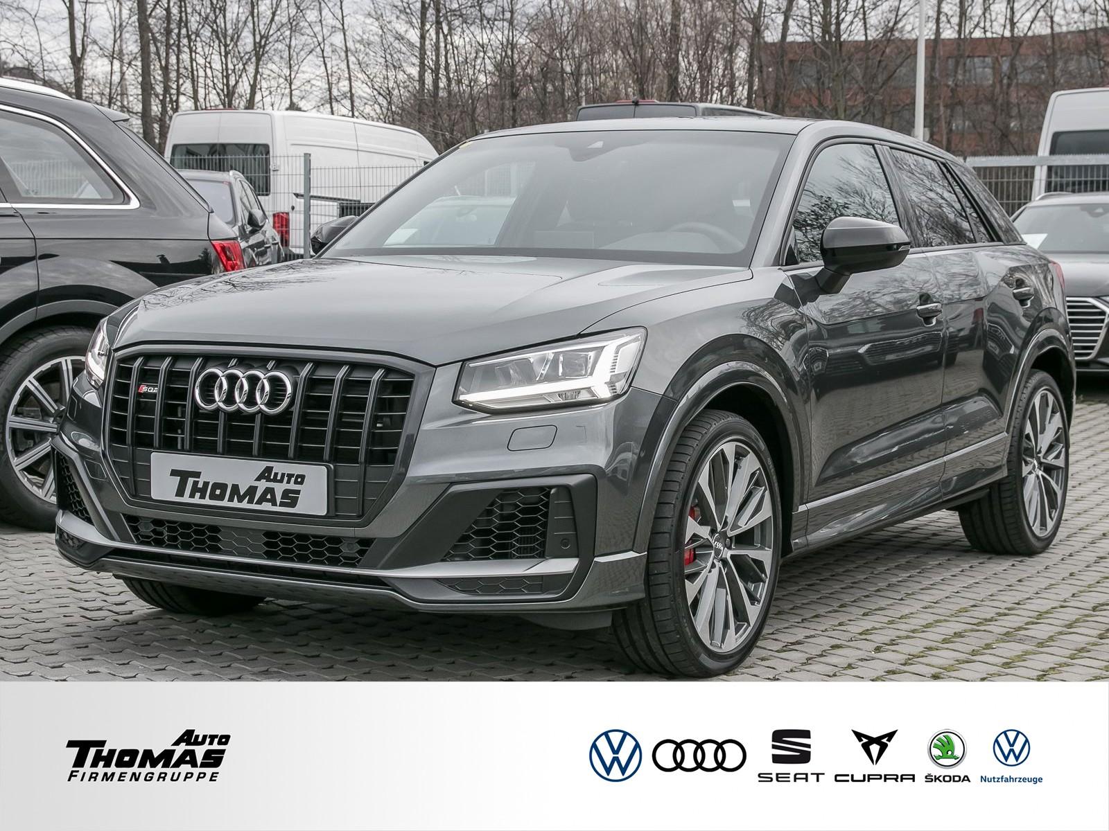 Audi SQ2 TFSI quattro S tronic PANO+NAVI+LED+PDC, Jahr 2019, petrol