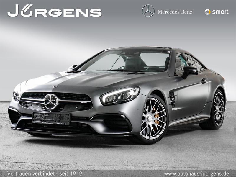 Mercedes-Benz SL 63 AMG Vmax/Keramik/HK/Keyl/Massage/Distr/20', Jahr 2018, petrol
