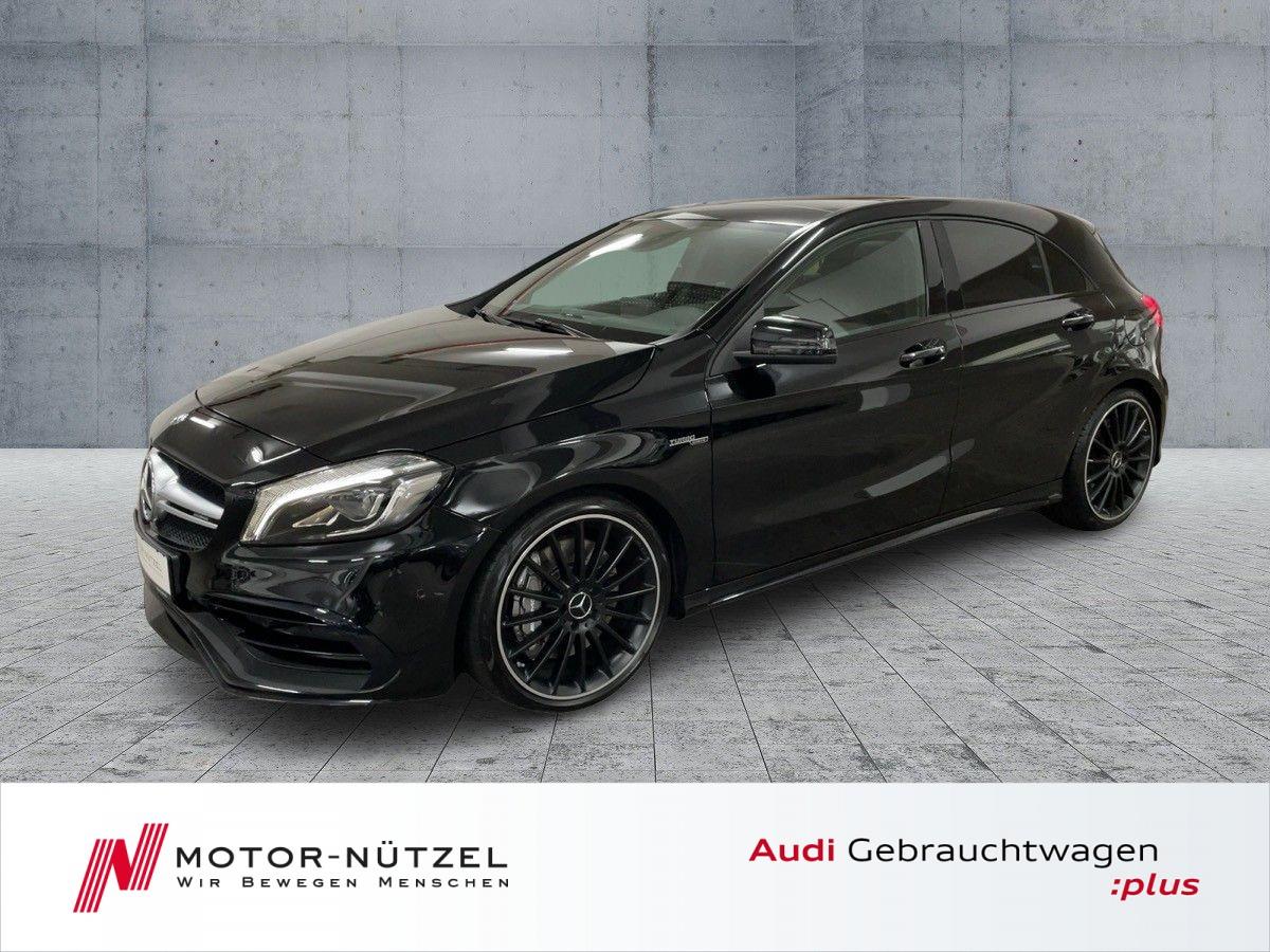 Mercedes-Benz A 45 AMG +LED+NAV+RFK+PANO+LEDER+19Zoll+270KM/H+, Jahr 2018, Benzin
