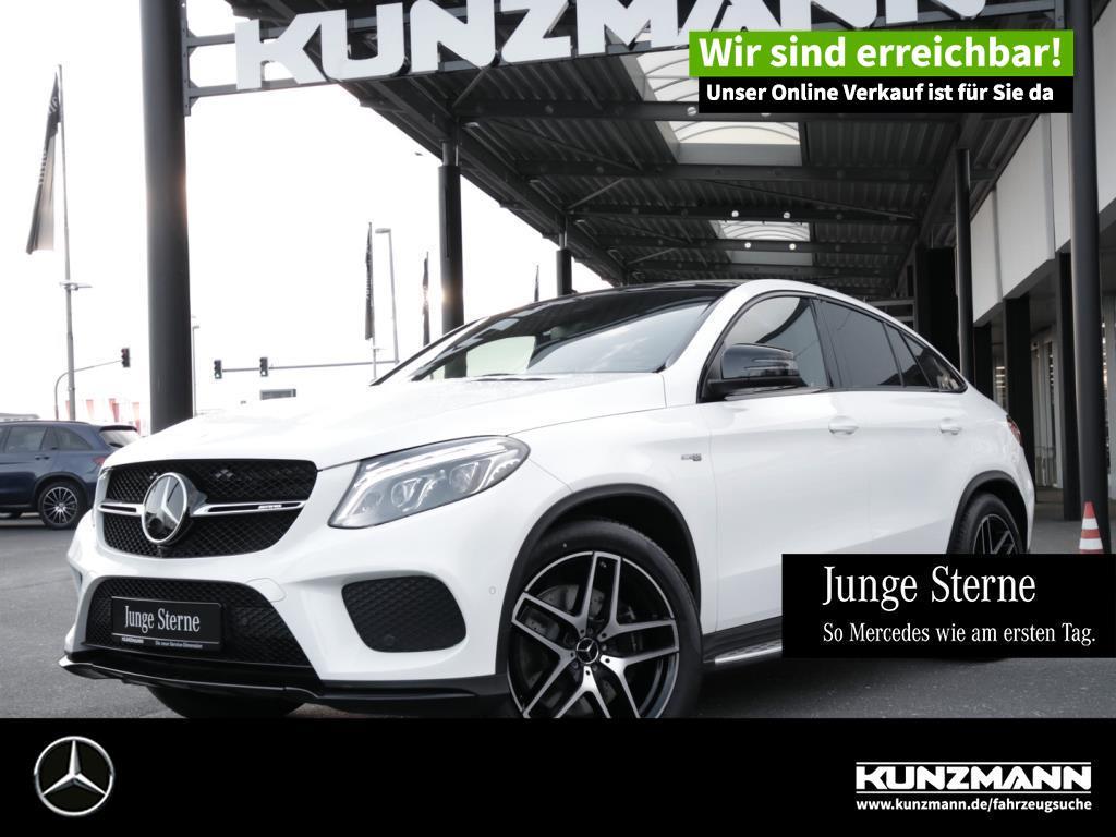 Mercedes-Benz GLE 43 AMG 4M Coupé Night Comand Airmatic 360°, Jahr 2017, Benzin