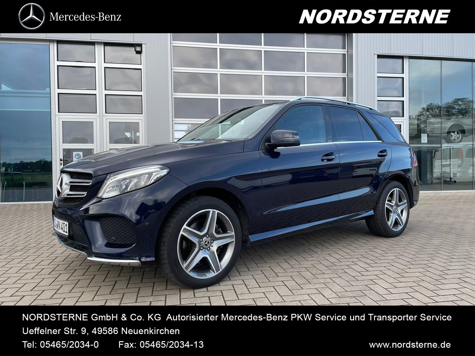 "Mercedes-Benz GLE 350 d 4M AMG-Line 20"" Räder Panorama LED ILS, Jahr 2016, diesel"