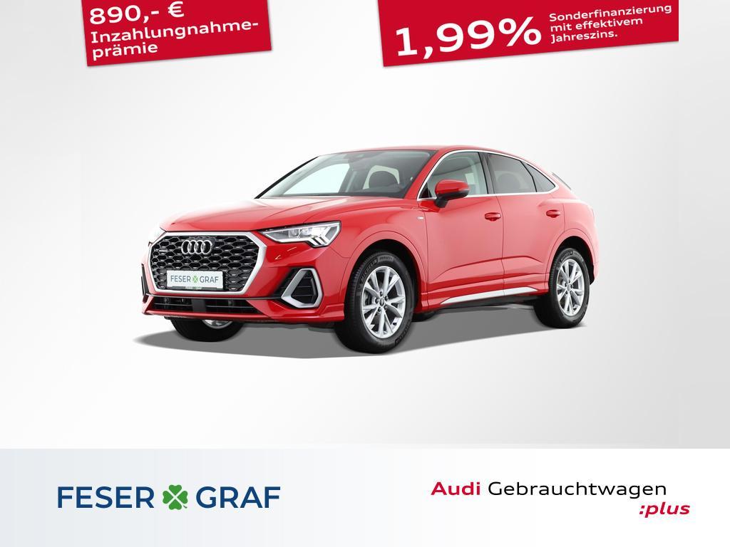 Audi Q3 Sportback S line 35 TDI quattro AHK/Navi/LED, Jahr 2020, Diesel