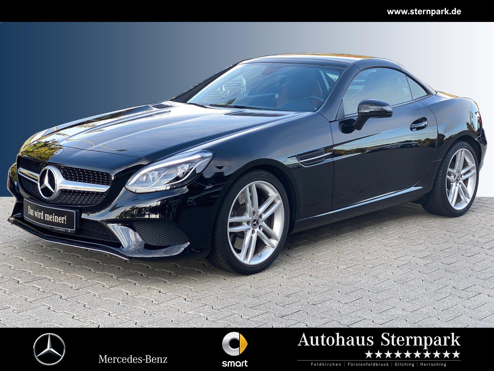 Mercedes-Benz SLC 180 Sport-Paket 9G+Navi+Pano.+LED+PTS+Totw., Jahr 2017, Benzin
