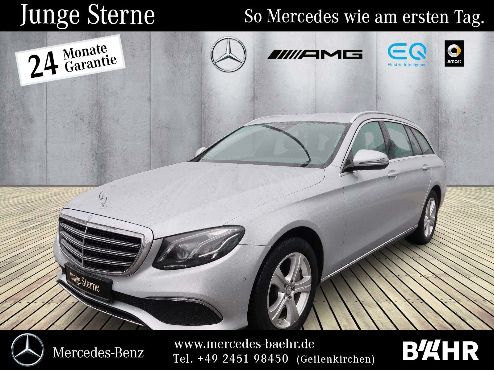 Mercedes-Benz E 350 d T Exclusive/Comand/Multibeam/Widescreen, Jahr 2017, Diesel