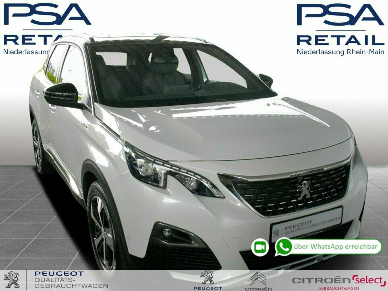 Peugeot 3008 PT 180 S&S GPF EAT8 Allure GT-Line *NAVI*ACC*GSD*, Jahr 2020, Benzin