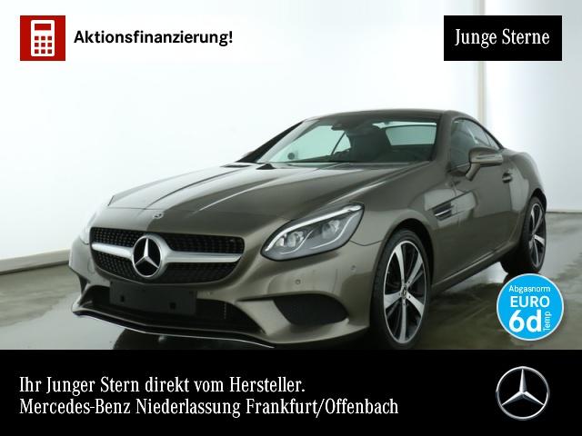 Mercedes-Benz SLC 180 Pano ILS LED Airscarf Navi Totwinkel PTS, Jahr 2019, petrol