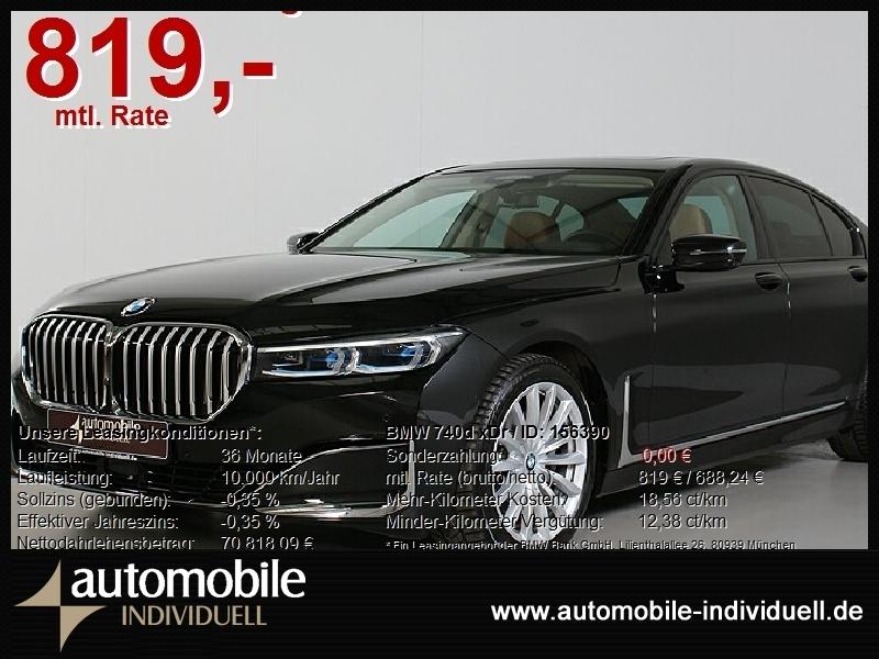 BMW 740d xDr Laser ACC Standh LiveCockpit HuD H&K, Jahr 2020, Diesel