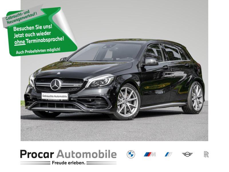 Mercedes-Benz A 45 AMG NAVI DYNAMIC PLUS PAKET AMG-ABGAS, Jahr 2016, Benzin