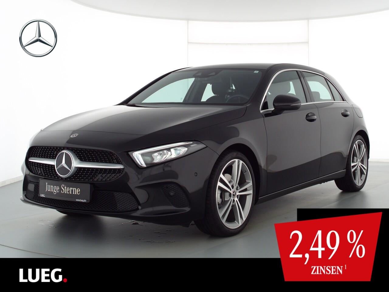 Mercedes-Benz A 180 Progressive+MBUXHighE+LED+Sthzg+19''+ParkA, Jahr 2020, Benzin
