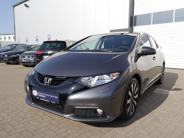 Honda Civic 1.4 RFK+Tempomat+Klima+MFL+Nebelscheinwerf, Jahr 2014, Benzin