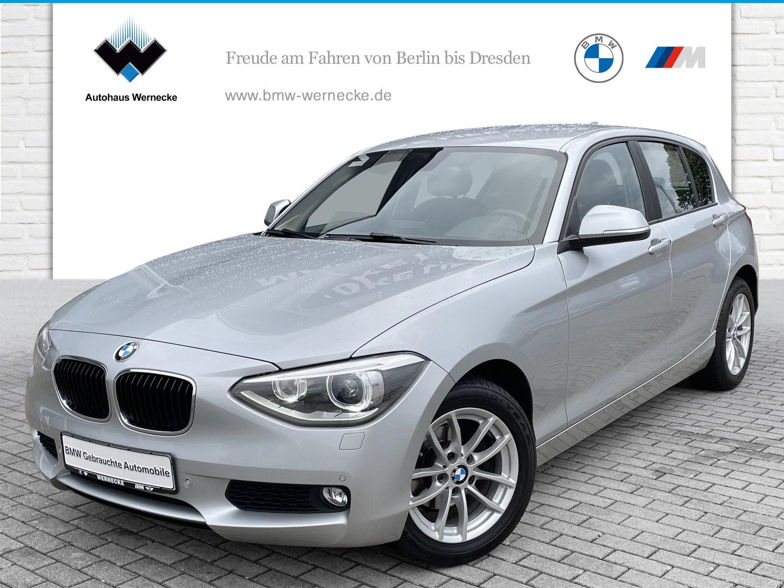 BMW 116d 5-Türer Xenon Tempomat AHK USB Klimaaut., Jahr 2015, Diesel