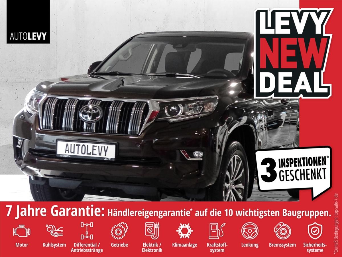 Toyota Land Cruiser Executive AHK*JBL*NAVI*SCHIEBEDACH, Jahr 2020, Diesel