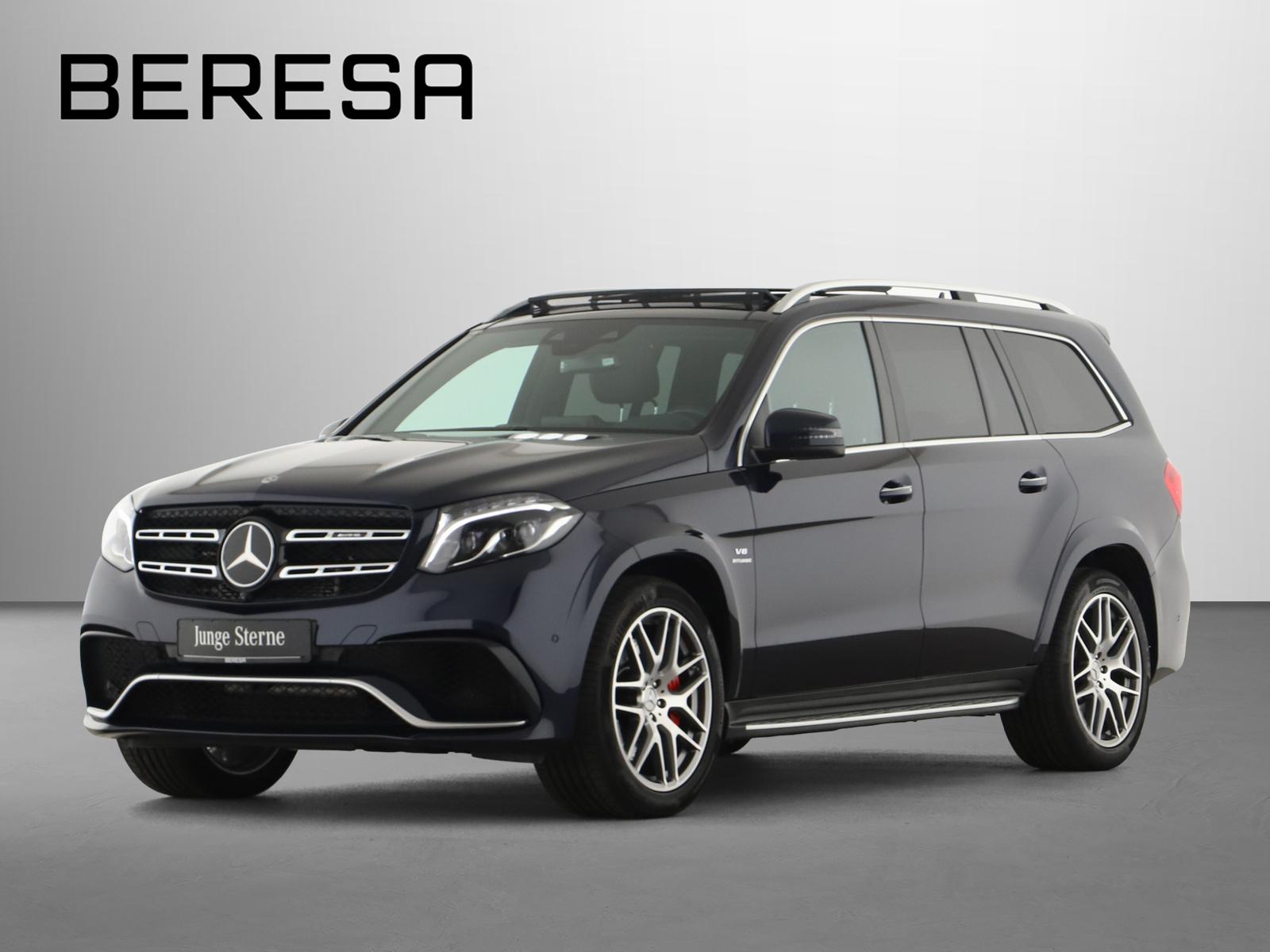 Mercedes-Benz GLS 63 AMG 4M Standhzg Pano. Carbon AHK 360°, Jahr 2018, Benzin