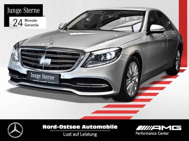 Mercedes-Benz S 450 Comand LED HUD Sitzklima Distro. Airmatic, Jahr 2018, Benzin