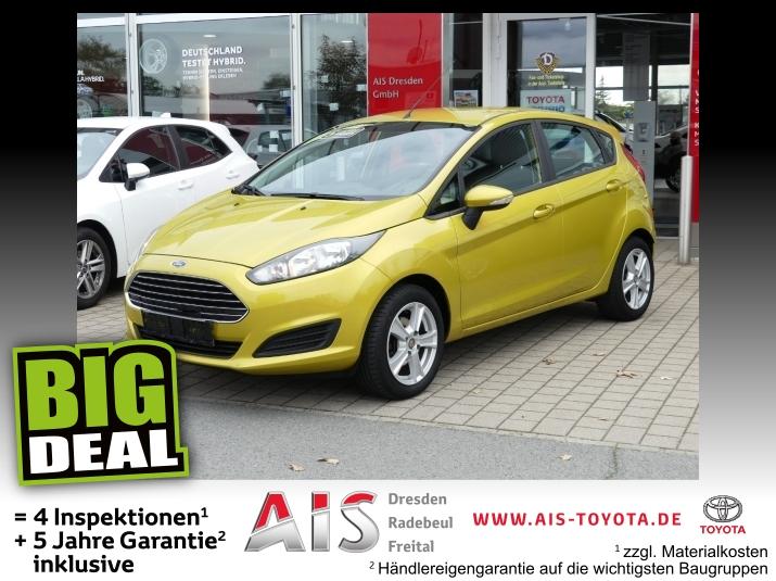 Ford Fiesta 1.0 EcoBoost Trend Sitzheizung, Jahr 2013, Benzin