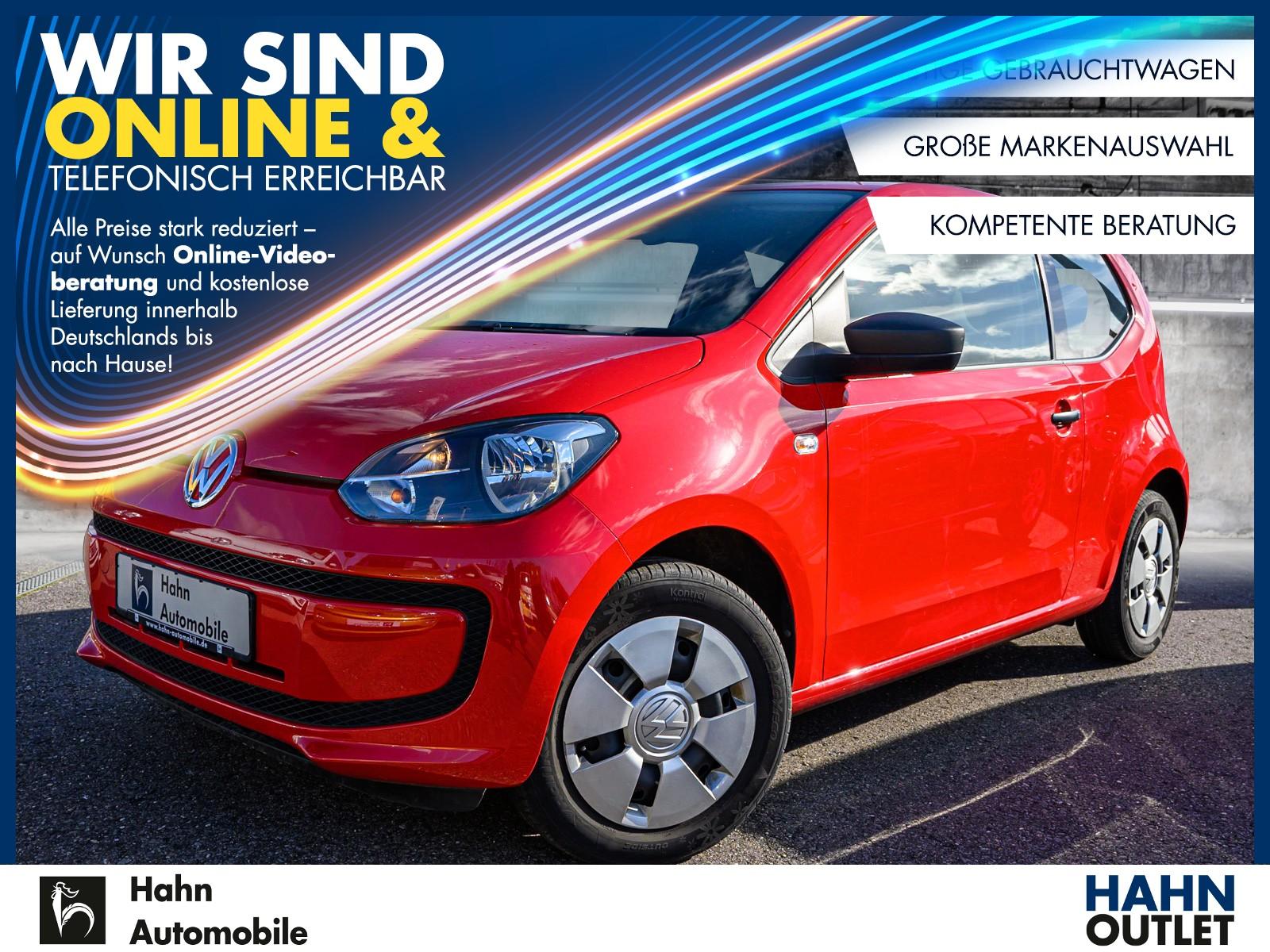 Volkswagen up! take up! 1.0 Klima ABS ESP, Jahr 2013, Benzin