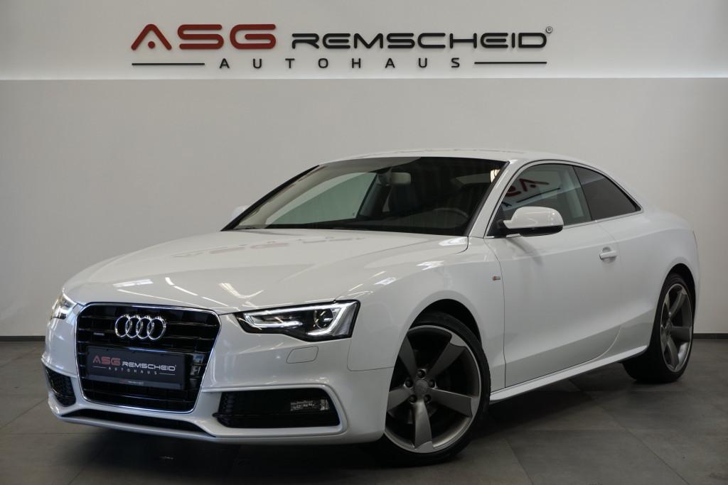 Audi A5 2.0 TDI S-Tr. q. 2x S Line *1.H *Navi *Rotor*, Jahr 2016, Diesel