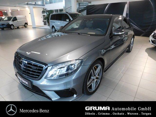 Mercedes-Benz S63 4M lang STANDHZ+PANOD+BURM+CARBON+HEAD-UP+, Jahr 2016, Benzin