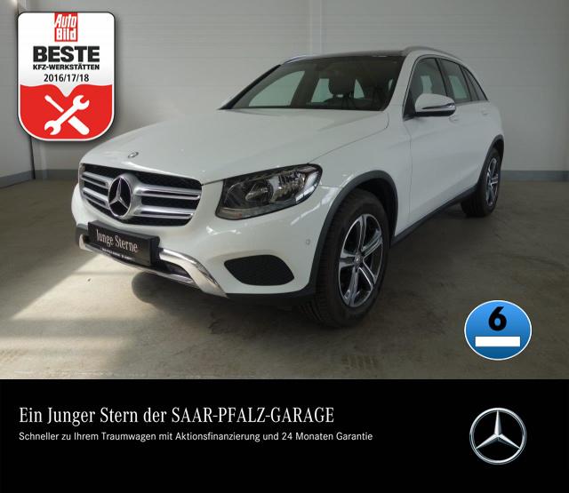 Mercedes-Benz GLC 250 d 4M EXCLUSIVE*9G-TRONIC*PANO-D*NAVI*PTS, Jahr 2015, Diesel