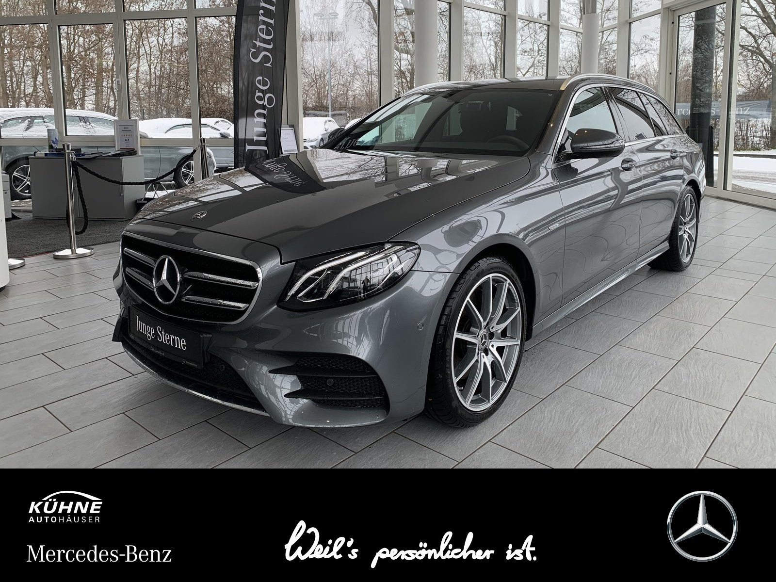 Mercedes-Benz E200d T Edition Sportstyle AMG+Wide+Standhzg+DAB, Jahr 2019, Diesel