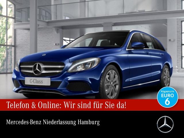 Mercedes-Benz C 220 d T Avantgarde Pano LED Navi PTS 9G Sitzh, Jahr 2017, Diesel