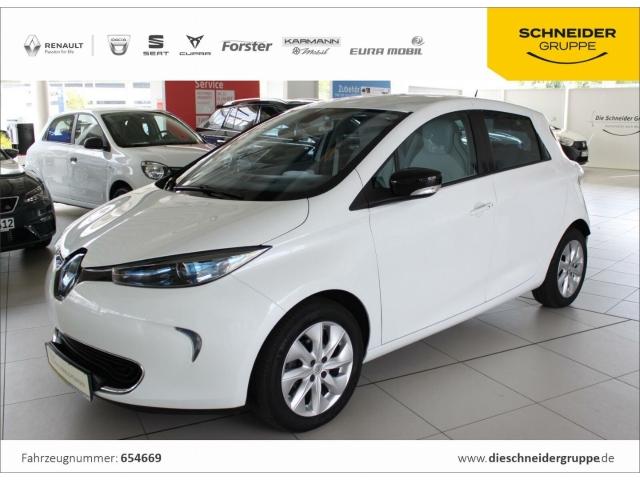 Renault ZOE Zen Batt-Miete KLIMAAUTOMATIK NAVI R-Link, Jahr 2015, Elektro