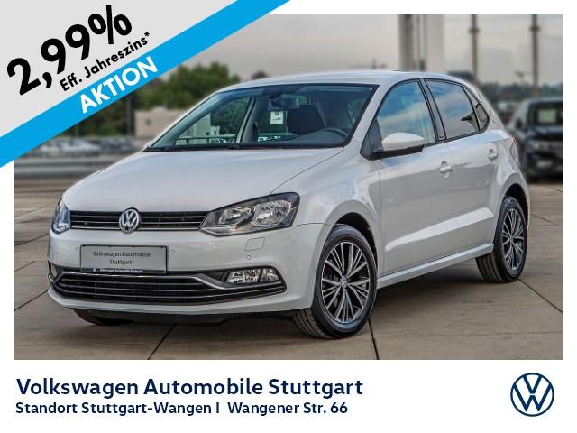 Volkswagen Polo Allstar 1.0 Klima PDC SHZ, Jahr 2017, Benzin