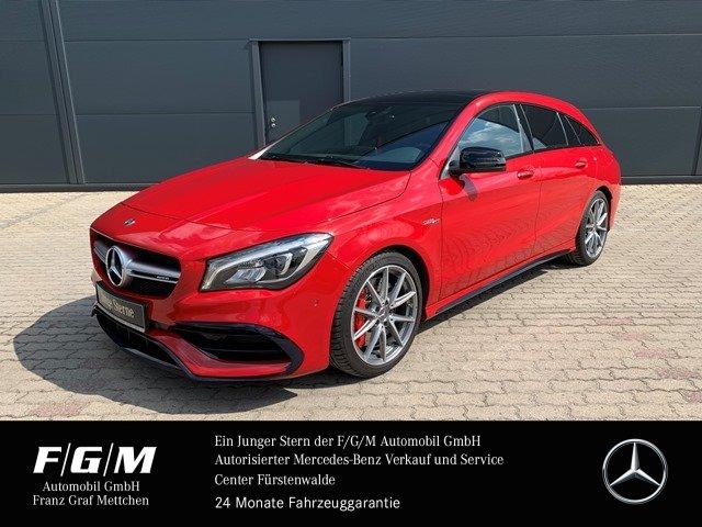 Mercedes-Benz CLA 45 AMG SB Navi/KeyGo/PanoD/Night/Memory/270*, Jahr 2017, Benzin