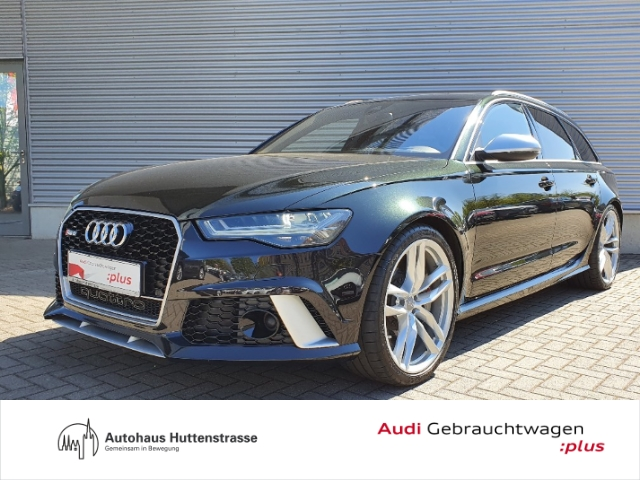 Audi RS6 Avant 4.0 TFSI quattro VMax Keramik HUD ACC Nachtsichtass., Jahr 2015, Benzin