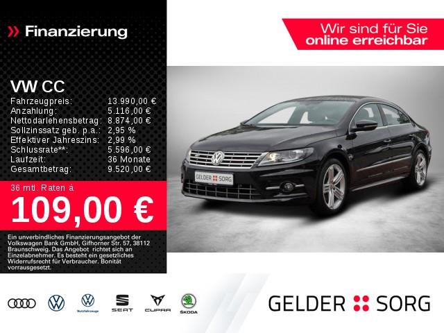 Volkswagen CC 2.0 TDI R-Line XENON*AHK*NAVI*ACC*RFK*SHZ*PDC, Jahr 2016, Diesel