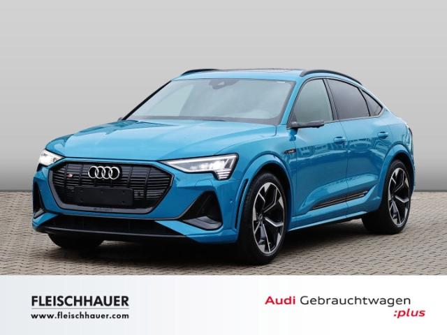 Audi e-tron Sportback S quattro LED NAVI LEDER PANORAMAD., Jahr 2020, Elektro