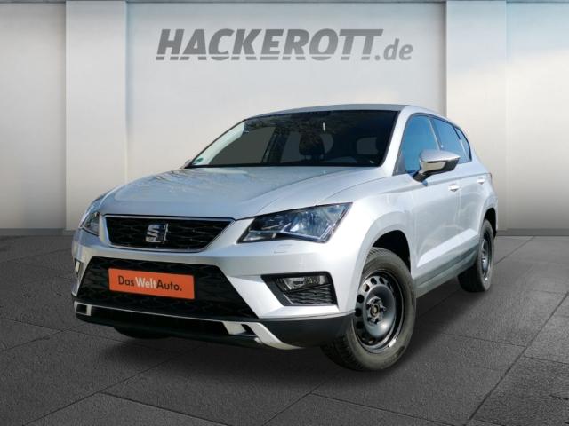 Seat Ateca Style 1.0 TSI LED-hinten LED-Tagfahrlicht Tel.-Vorb. Multif.Lenkrad RDC Klimaautom, Jahr 2016, Benzin