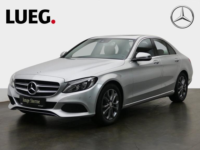 Mercedes-Benz C 180 Avantgarde+Navi+SHD+LED-HP+Sthzg+ParkAss++, Jahr 2019, Benzin