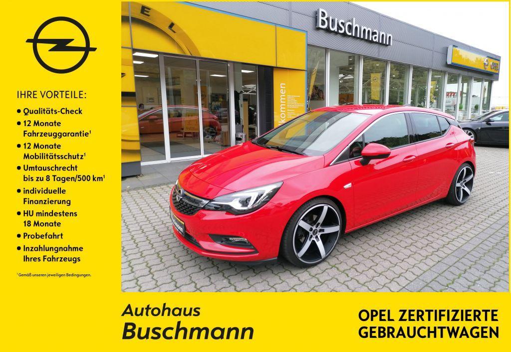 Opel Astra Innovation 1.4 T +AHK+NAVI+LEDER+TIEFERLEGUNG+, Jahr 2016, Benzin