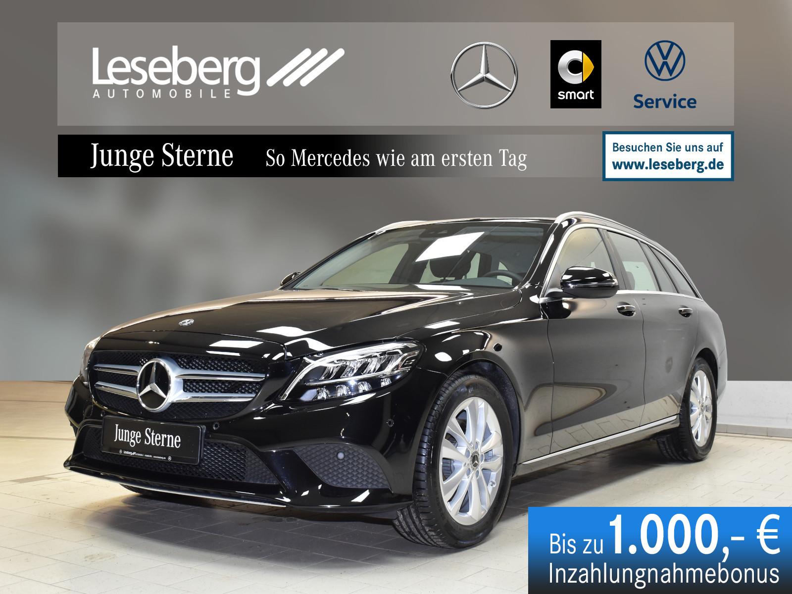 Mercedes-Benz C 200 d T Avantgarde/Kamera/Memory/Navi/Keyless, Jahr 2019, Diesel