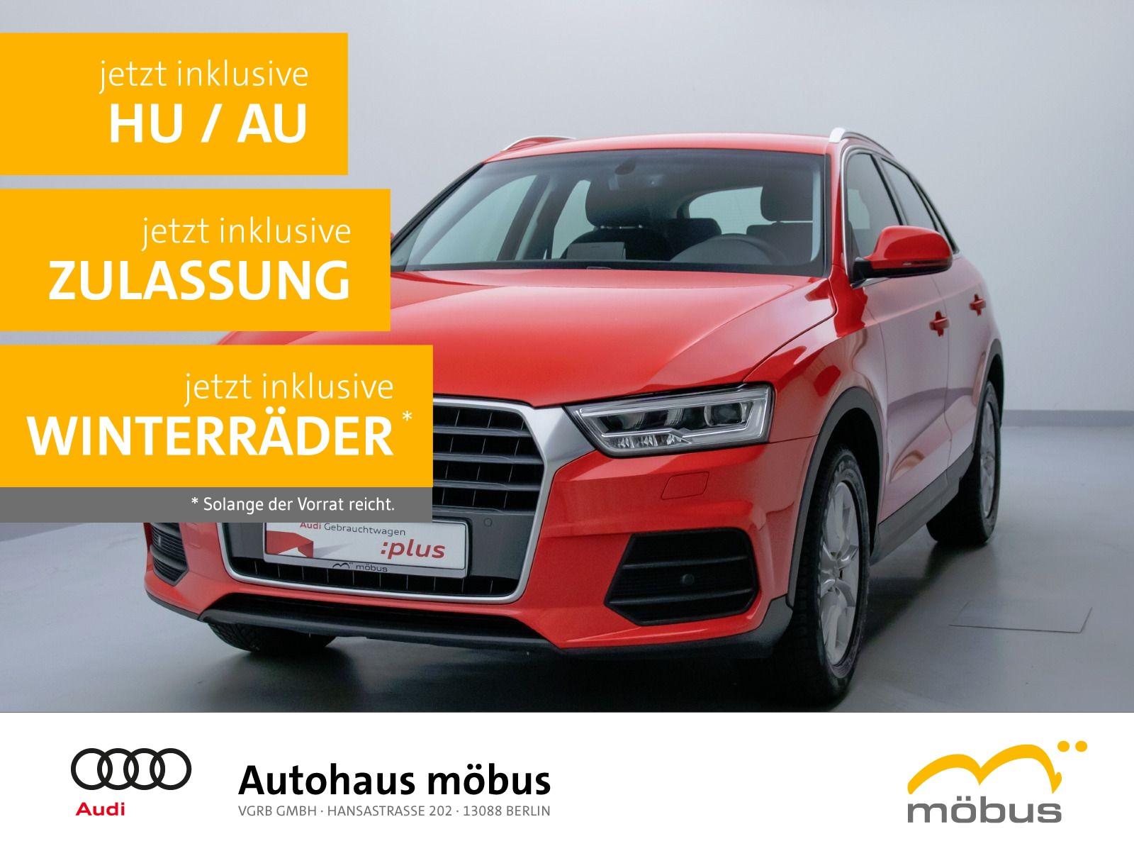 Audi Q3 1.4 TFSI S-TRO*LED*NAVI*GRA*PDC*SHZ, Jahr 2016, Benzin