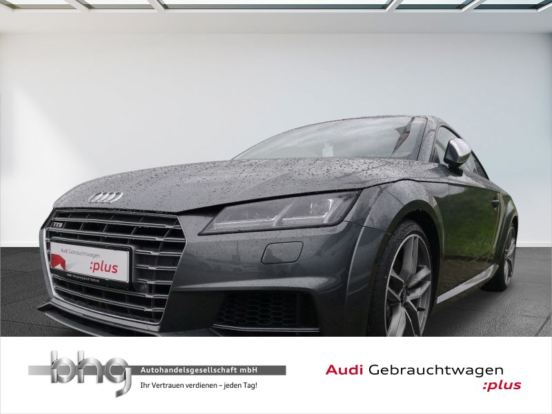 Audi TTS Coupe 2.0 TFSI quattro S tronic Leder Navi GRA LED B+Osound, Jahr 2018, Benzin