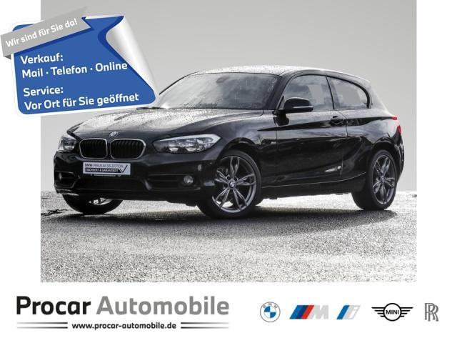 BMW 118d Sport Line Navi Business Klimaaut. PDC RFT, Jahr 2017, Diesel