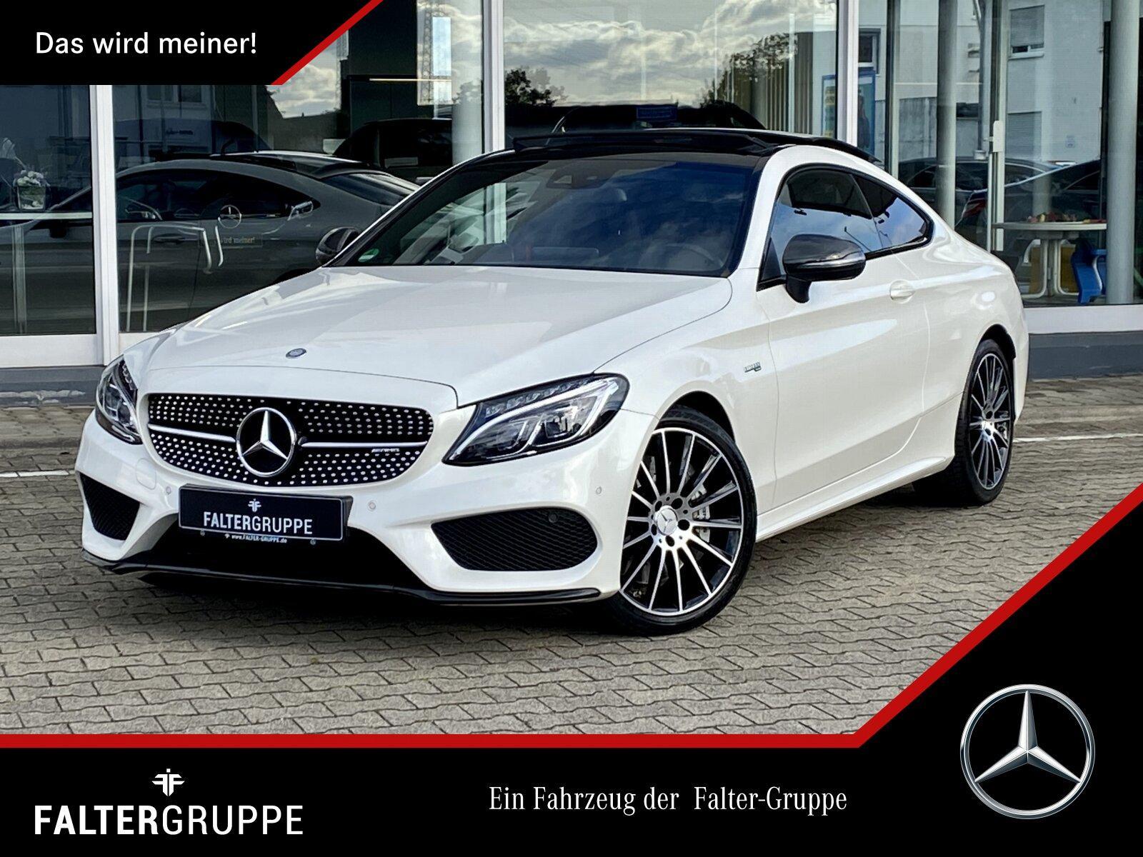 "Mercedes-Benz Mercedes-AMG C 43 4M PANO+NIGHT+BURME+CARBON+19"", Jahr 2017, petrol"