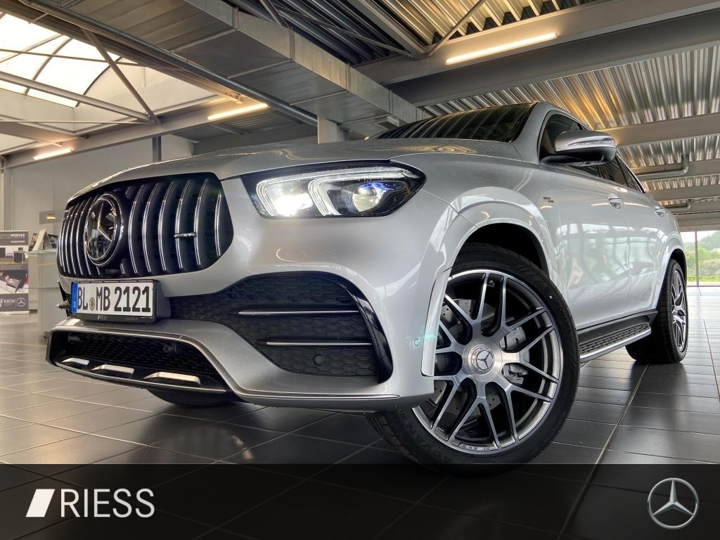 Mercedes-Benz GLE 53 AMG Coupé PANO+360°+MULTIBEAM+HEAD-UP+MEM, Jahr 2021, Benzin