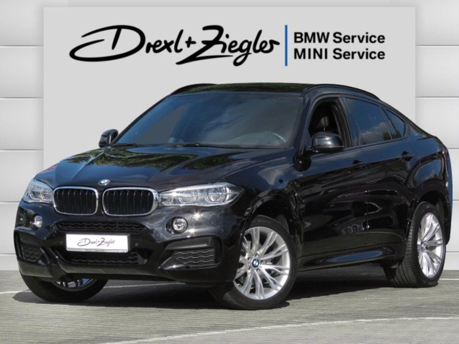 BMW X6 xDrive30d M Sport AHK SCA HUD GSD Komfzg Kamera, Jahr 2016, Diesel