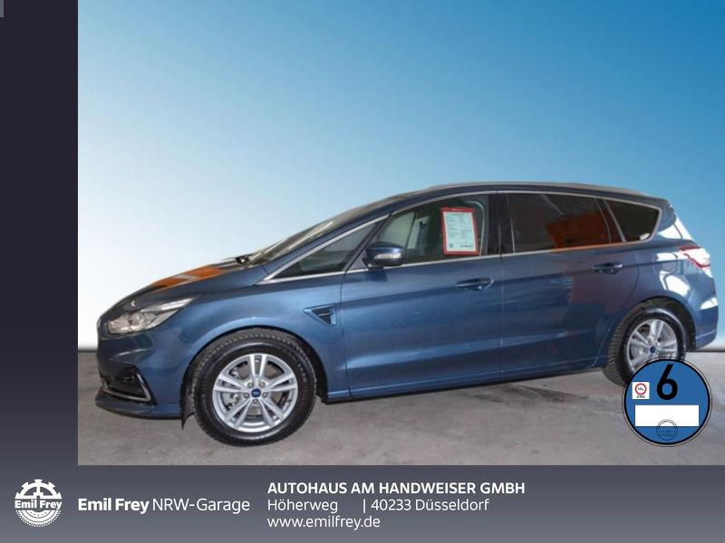Ford S-Max 2.0 EcoBlue Aut. TITANIUM, AHK, Navi, GJR, Jahr 2019, Diesel