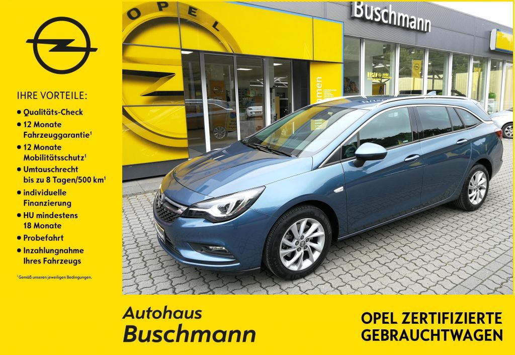 Opel Astra Innovation 1.6 BITURBO +RFK+DAB+LED Matrix+, Jahr 2017, Diesel