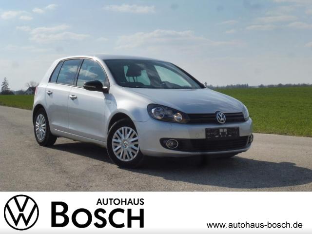 Volkswagen Golf VI 1.6 TDI Match AHK PDC Sitzheizung Klima, Jahr 2012, Diesel